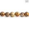 6mm Picture Jasper faceted round beads 15 inch 65 pieces