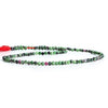 2.5mm Ruby in Zoisite Micro Faceted Round Beads 13 inch 138 pieces