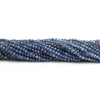 2mm Iolite Micro Faceted Round Beads 13 inch 168 pieces