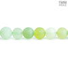 5mm-6mm Matte Serpentine Plain Round Beads 15 inch 63 pieces