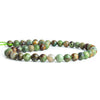 8mm Green Opal Faceted Round Beads 15 inch 47 pieces