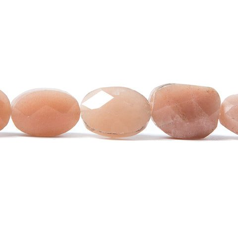 14x10mm Sunstone faceted ovals 16 inches 28 Beads