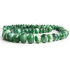 6mm-13mm Aventurine Plain Rondelle Beads 18 inch 85 pieces