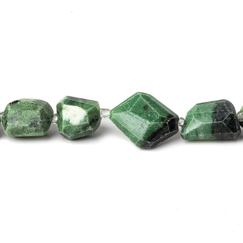 Best buying 8-10mm Zoisite Faceted Nugget Beads, 14 inch - Buy From The Bead Traders Online Store