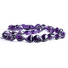 15x11-20x13mm Amethyst Plain Nugget Beads 14 inch 30 pieces