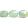 Aquamarine Plain Nugget Beads 16 inch 19 pieces
