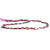 Garnet Straight Drilled Faceted Oval Beads 14 inch 50 pieces