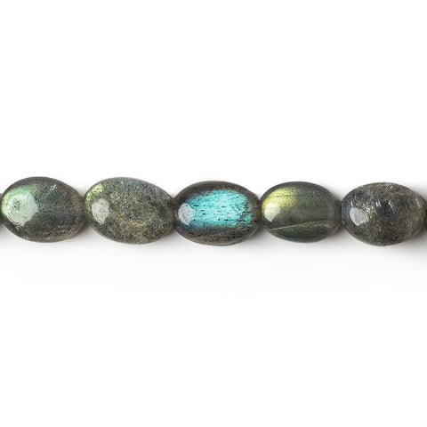 7x5-9x6mm Labradorite Plain Oval Beads 16 inch 49 pieces