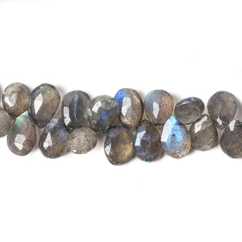 Natural 50 Strands,Labradorite Faceted Oval Beads Labradorite Faceted beads AA quality