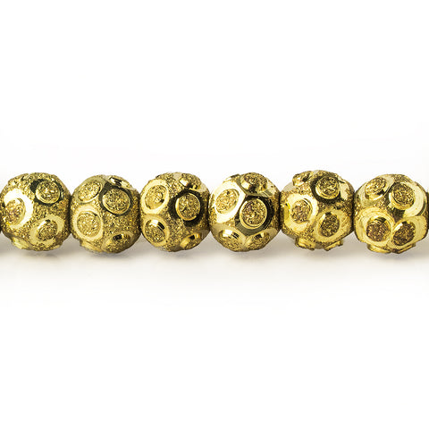 brass-bead-round-textured-sparkle-with-shiny-circles