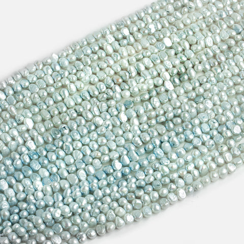Blue Baroque Pearls - Lot of 20