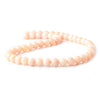Finest collection of 8mm Pink Peruvian Opal Plain Rounds 16 inch 50 pieces - Buy From The Bead Traders Online Store