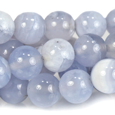 Premium quality Turkish Chalcedony Plain Round 6mm Beads - Buy From The Bead Traders Online Store