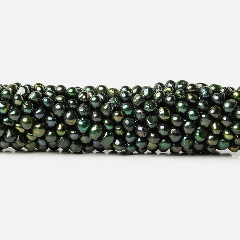 Sage Baroque Pearls 16 inch 85 beads 5x4mm