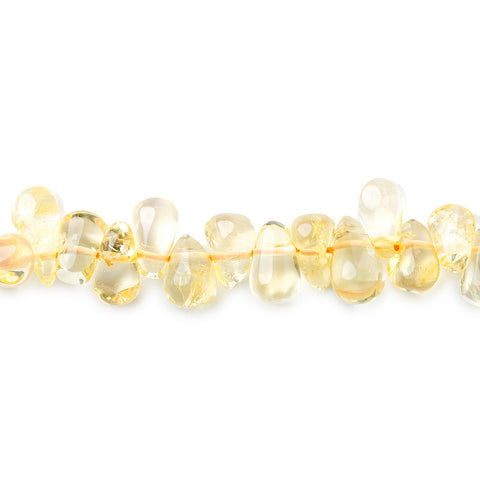Best buying 7mm Citrine Beads Plain Top Drilled Teardrop - Buy From The Bead Traders Online Store