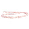Morganite Faceted Rondelle Beads 16 inch 125 pieces