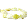 Top quality Jade Plain Pear Beads, 14 inch - Buy From The Bead Traders Online Store