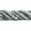 6mm Mystic Labradorite Faceted Rondelle Beads 11 inch 85 pieces