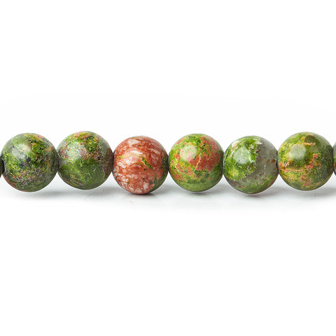 High quality 6mm Unakite Plain Round Beads, 15 inch - Buy From The Bead Traders Online Store