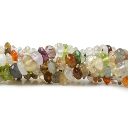 5mm Multi Gemstone Plain Rondelle Beads 150 pieces