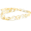 18mm Citrine Faceted Nugget Beads 16 inch 28 pieces