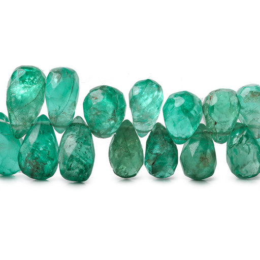 9mm Apatite Faceted Teardrops Beads, 16 inch
