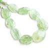 20x14.5mm-25x18mm Prehnite Faceted Nugget Beads 8 inch 9 pieces