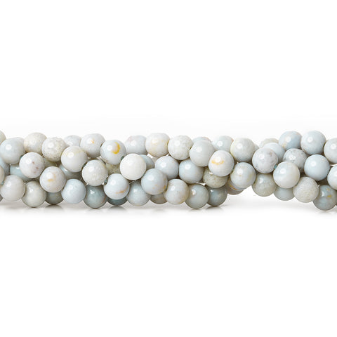 Finest collection of 5mm Blue Chalcedony Plain Round Beads - Buy From The Bead Traders Online Store