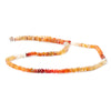 Top quality 3mm Mexican Fire Opal Faceted Chip Beads, 14.5 inch - Buy From The Bead Traders Online Store