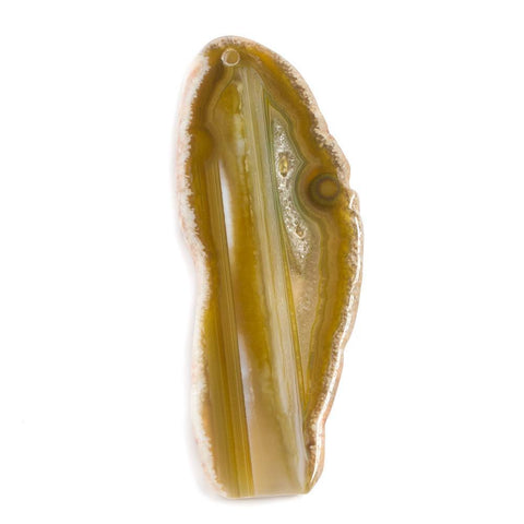 Top quality 78x30x5mm Golden Yellow Agate Focal Pendant Bead 1 piece - Buy From The Bead Traders Online Store.