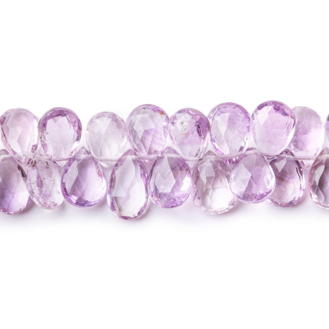 6x4.5mm-12x6.5mm Amethyst Faceted Rondelle Beads 13 inch 100 pieces