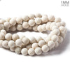 10mm Matte River Stone Jasper plain round beads 15 inch 39 pieces
