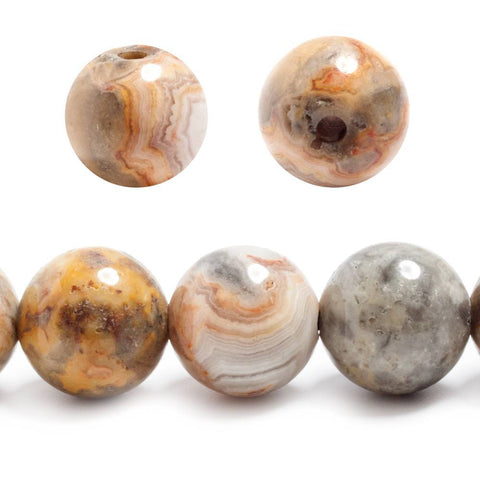 Best selling 14mm Red Creek Jasper plain round beads 7 inches 13 pieces - Buy From The Bead Traders Online Store.
