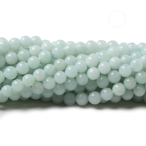 3mm Amazonite plain round Beads 16 inch 125 pieces