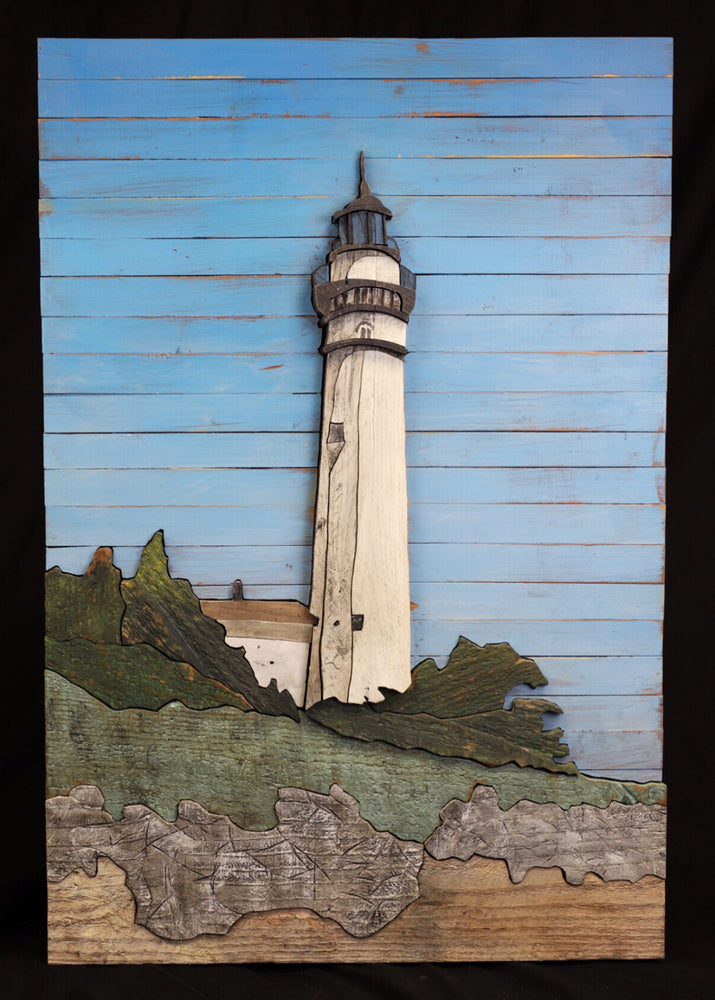 Reclaimed Wood Lighthouse