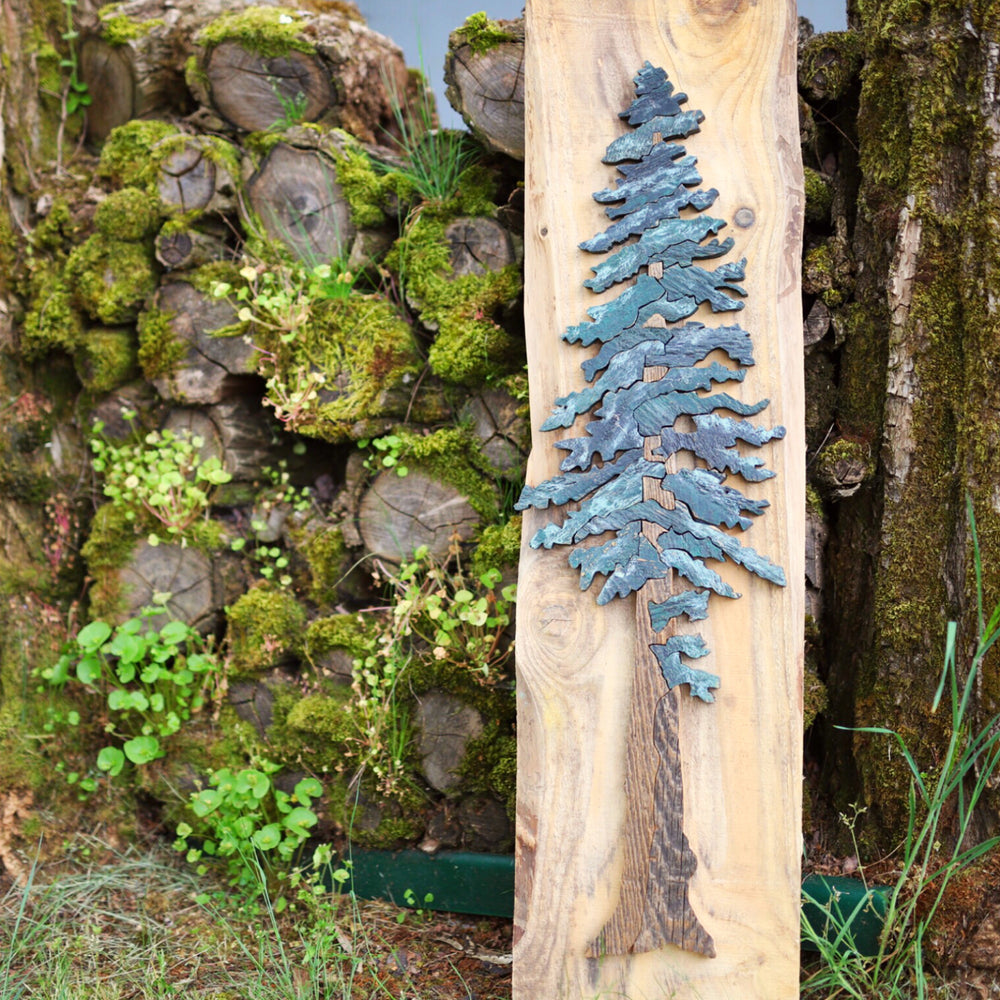 Reclaimed Wood Tree