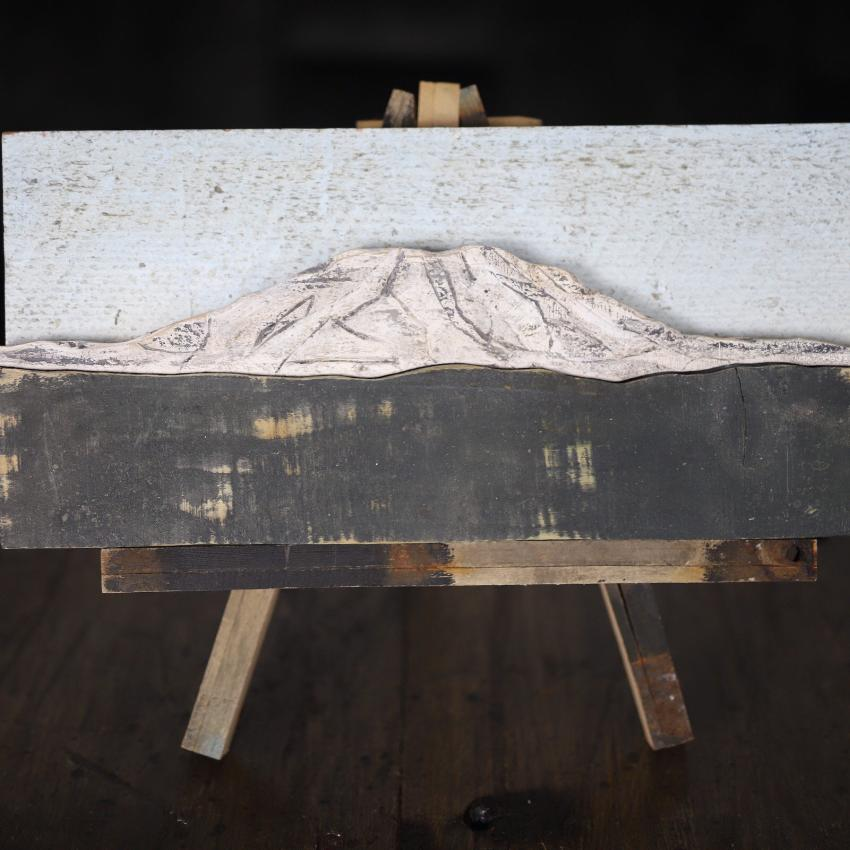 Reclaimed Wood Mt St Helens