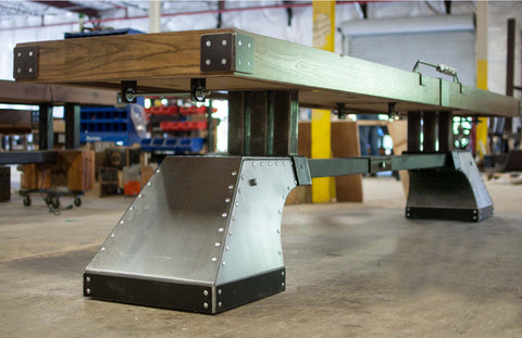 """The Anvil"" Shuffleboard Table"