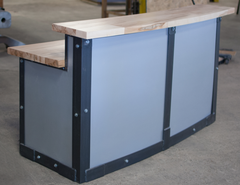 Ambrosia Modern Reception Desk