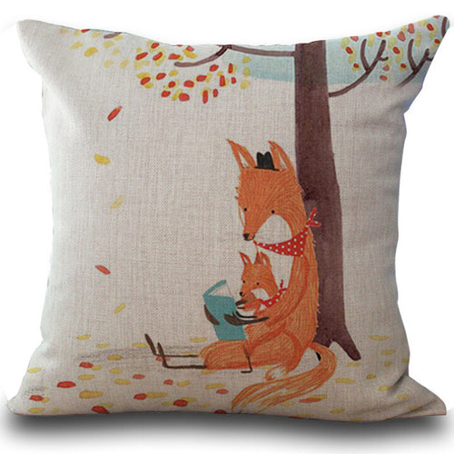 Fox of Peace Pillow Case