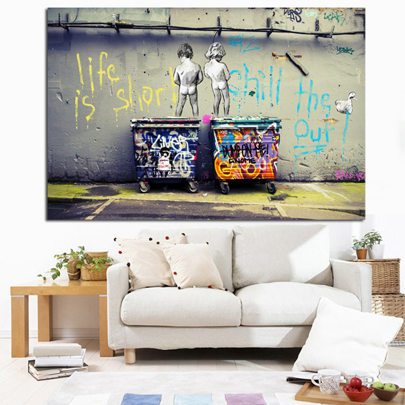 Graffiti Lovers Canvas