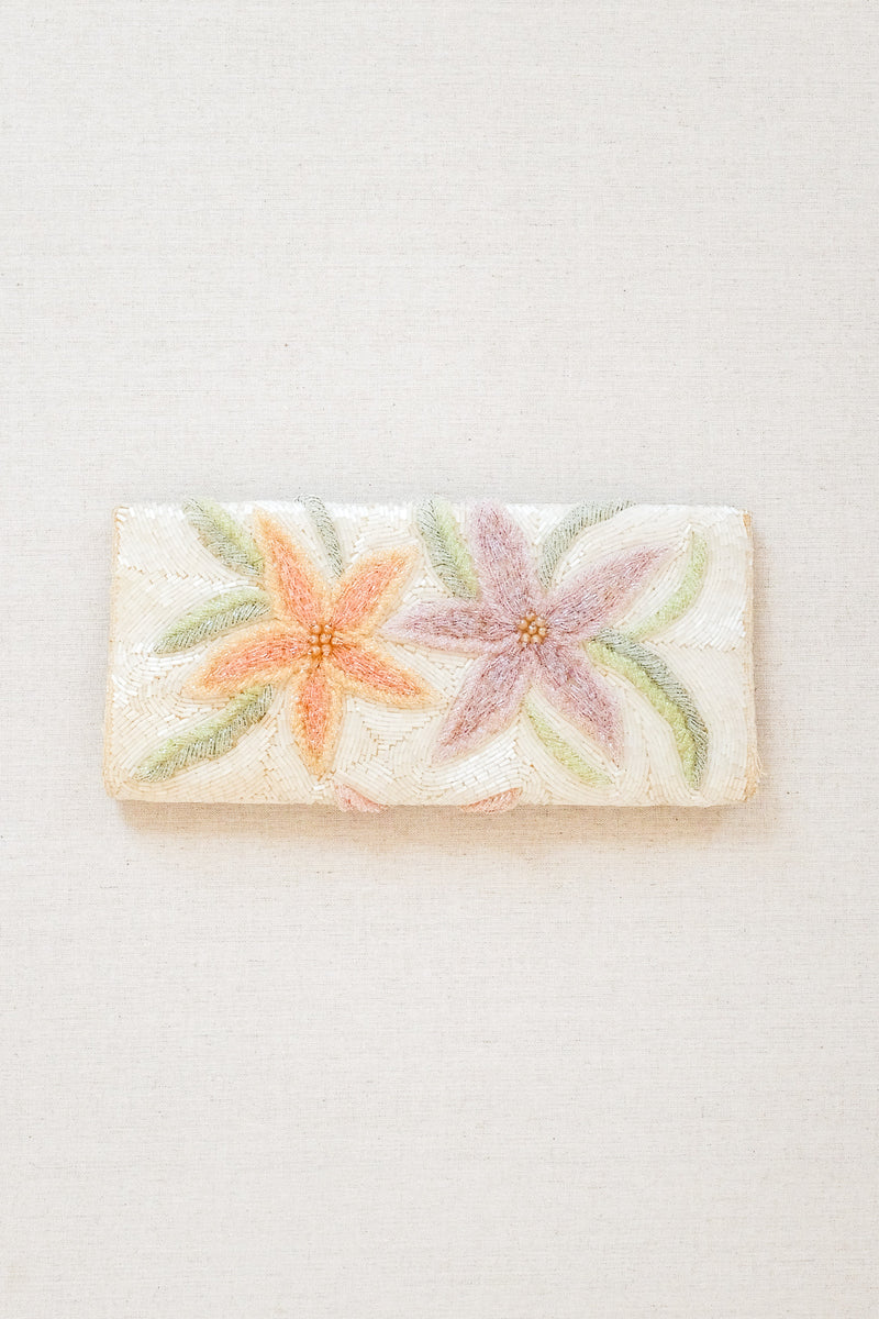 Adelaide Floral Clutch