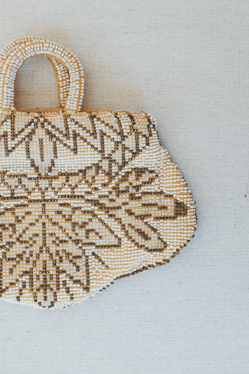 Etta Vintage Beaded Clutch