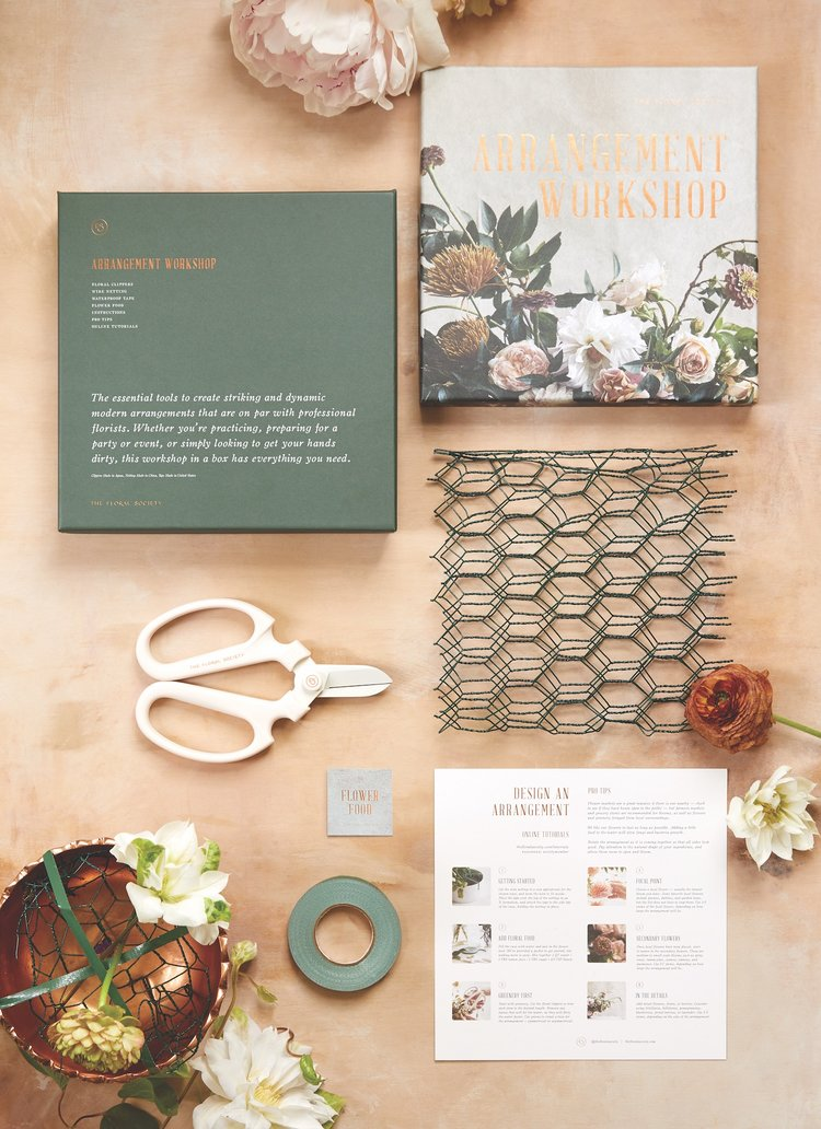 Flower Arrangement Workshop Kit