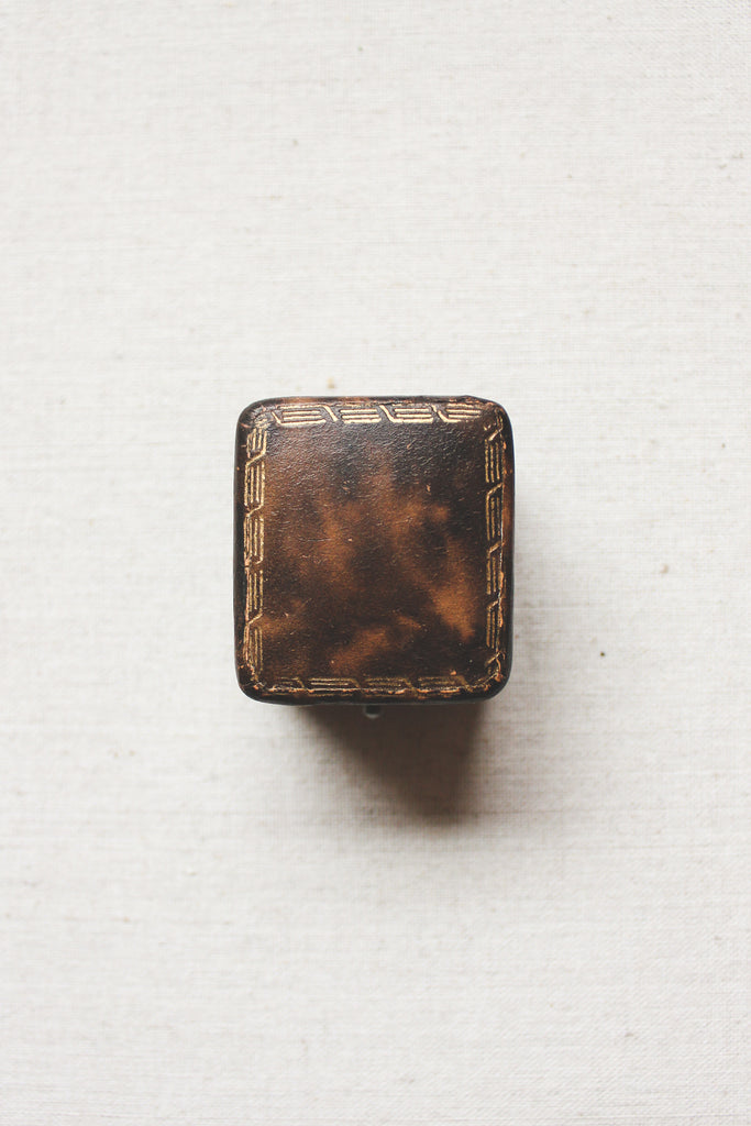 Agatha Antique Ring Box