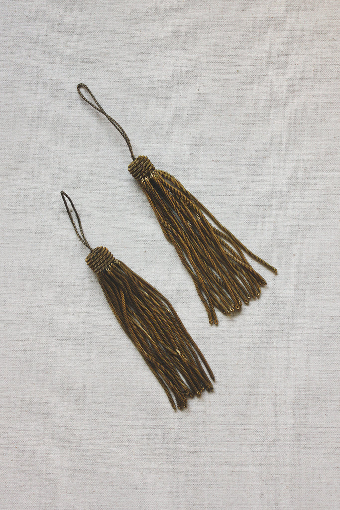 Antique French Gold Tassel