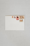Warmth Vintage Postage Stamp Set