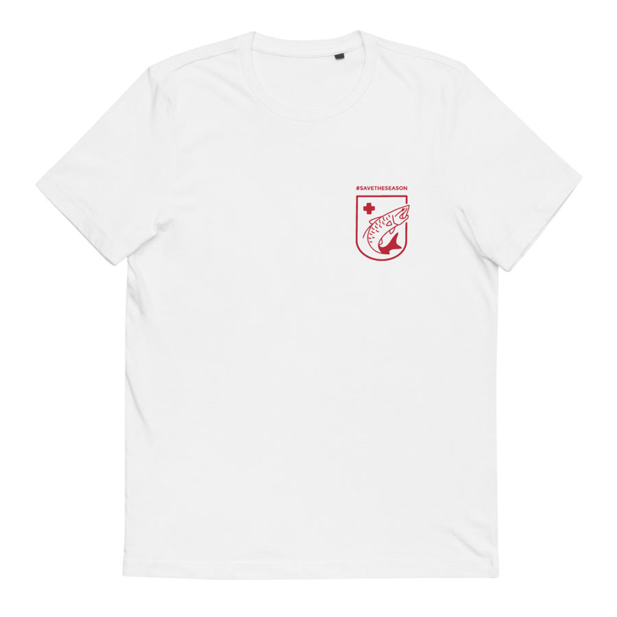 Save The Season White Tarpon Tee
