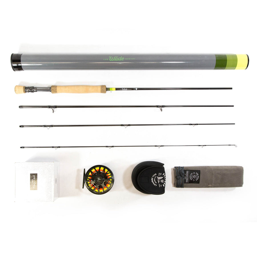 Wade Rods Streamer Express 6/7WT Rod // Pelican Flight 2.0 Reel Combo