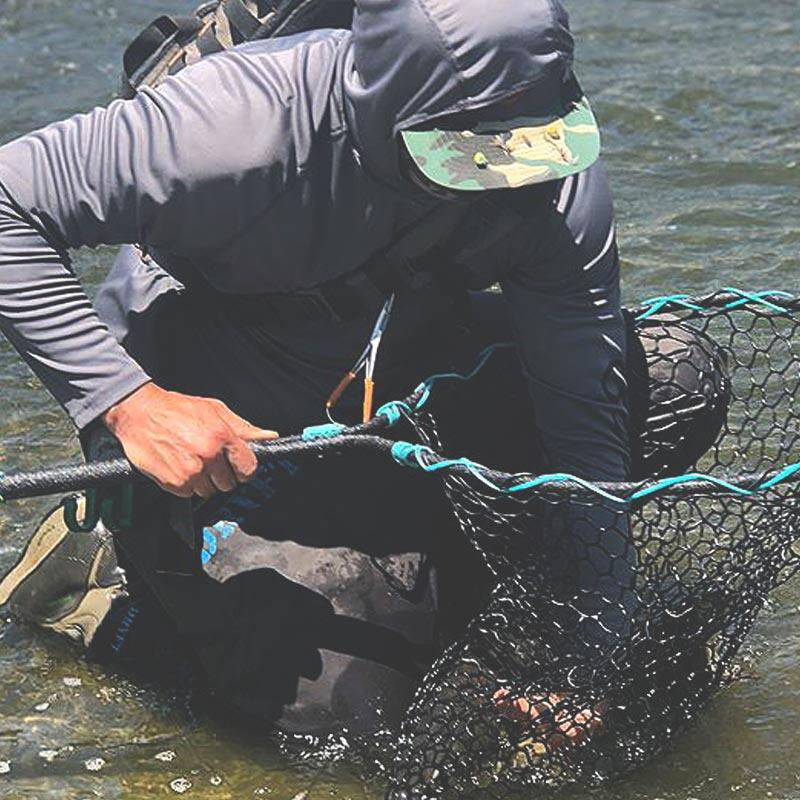 Pulling Fish Out of Rhino Net